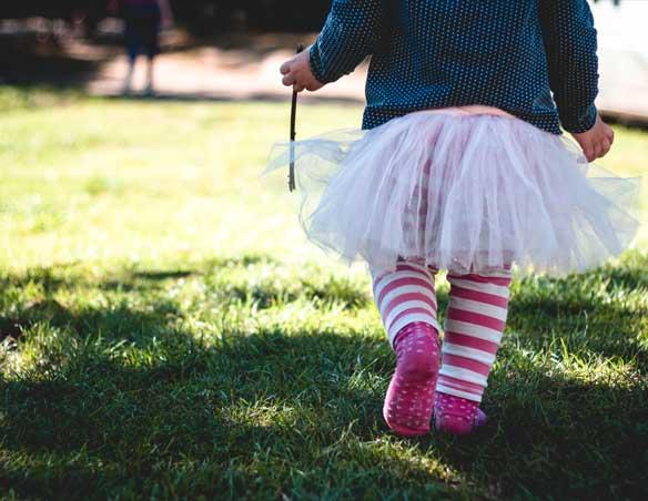 Dziecko chodzi - chodzik