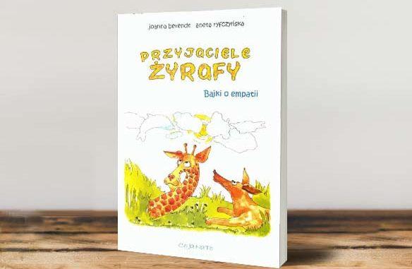 książka - przyjaciele żyrafy