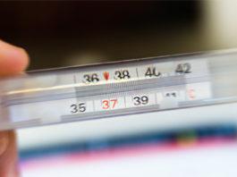 termometr - gorączka u dziecka