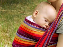 Dziecko w chuście - okiem fizjoterapeuty