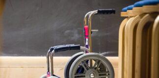 Sprzęt rehabilitacyjny - wóżek