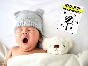 Karty do zdjęć - niemowle - kto jest najładniejszy